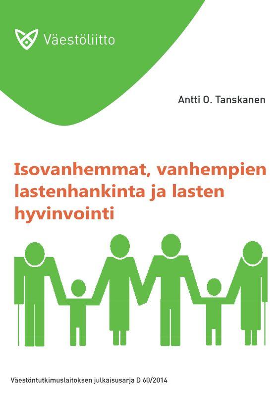 Valkovihreä kansi, jossa on piirroshahmoja kolmessa sukupolvessa: lapsia, vanhempia ja isovanhempia, jotka pitelevät toisiaan kädestä.