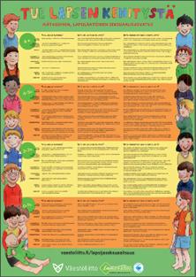 Tue lapsen kehitystä- juliste