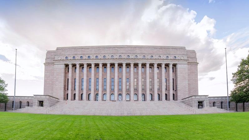 Finland's Parliamen Building