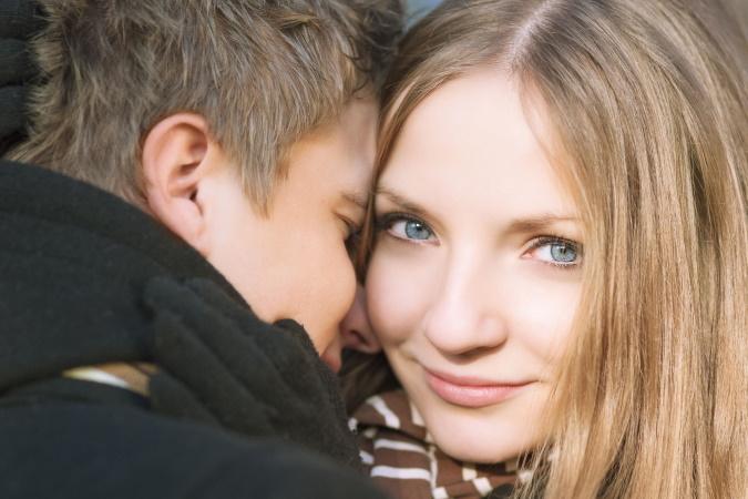 ett ung par