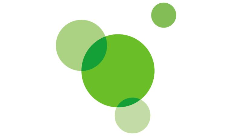 Väestöliiton tunnuskuva vihreät pallot