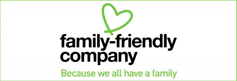 Family friendly company -banneri