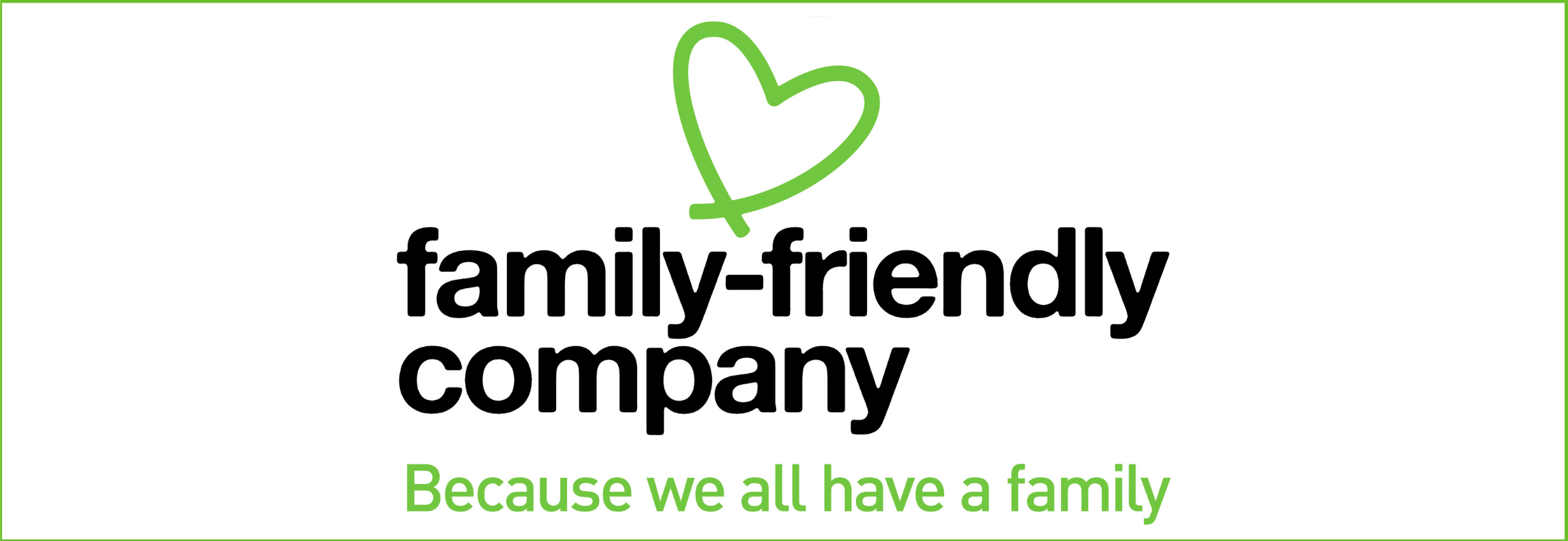 Family friendly company -banneri