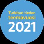 Tutkitun tiedon teemavuosi logo