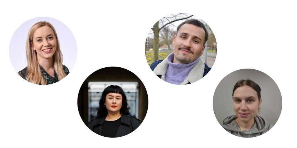 Sofia Virta, Ronja Tammi, Joonas Pesonen, Jenni Meinilä