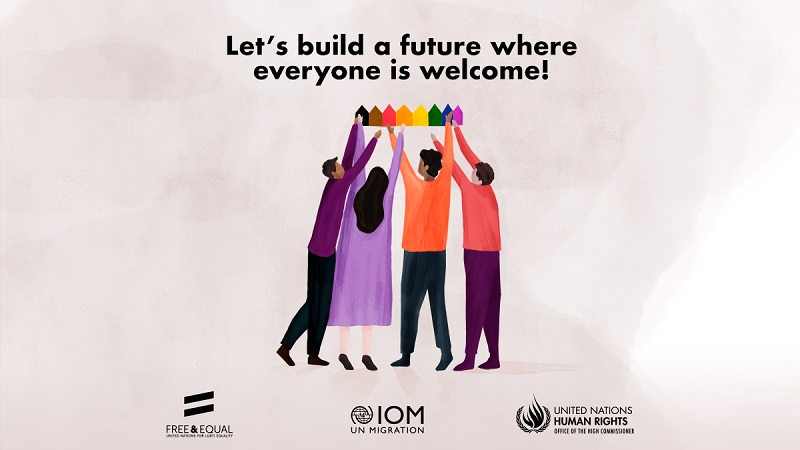 Lets build a future where everyone is welcome!