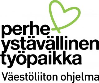 Perheystävällinen työpaikka -ohjelman logo.